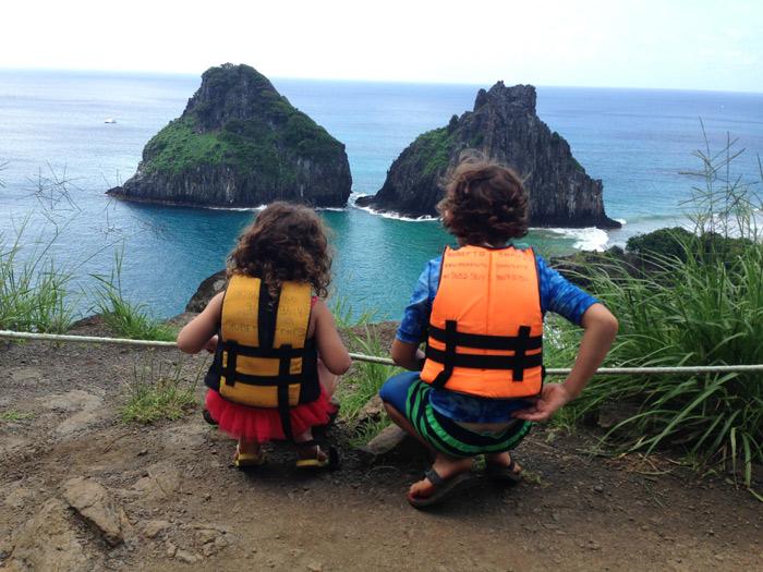 Fernando de Noronha com crianças: as dicas de viagem da Heliene