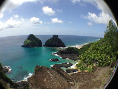 Baía do Sancho, votada a mais linda do mundo