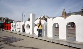 Explorando Amsterdam com crianças