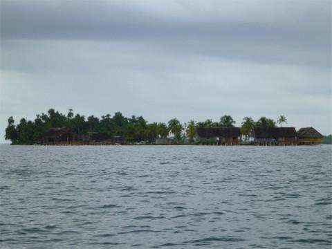 Esse é o hotel Sapibenega, que fica pertinho do Yandup em San Blás