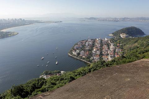 Vista da Baía de Guanabara e da Urca