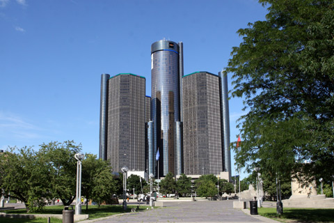 Renaissance Center, sede mundial da GM