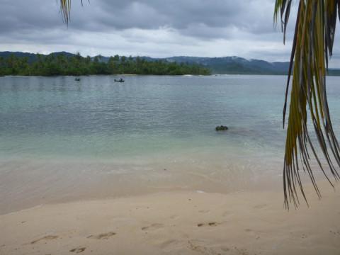 Mesma ilha, quanta diferença - ilha Arridup em San Blás