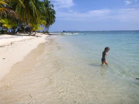 Mais uma ilha linda em San Blás