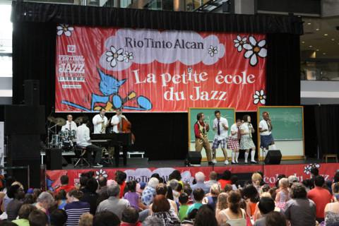 O Festival de Jazz de Montreal também tem programação infantil