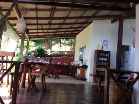 Café da manhã no hotel - com direito a deliciosa tapioca da Val