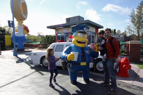 Em Springfield, a cidade dos Simpsons