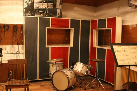 Studio A, que era a garagem da casa, Motown Museum, Detroit