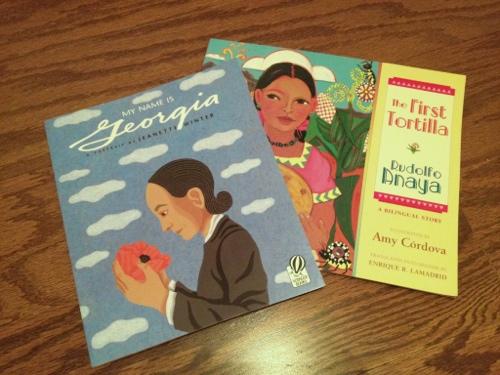 Livros infantis sobre o Novo México