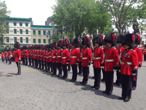 Comemorações do Canada Day em Quebec