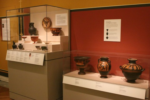 Objetos Gregos no DIA