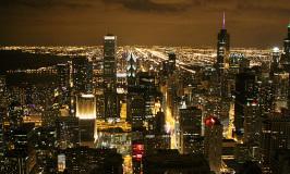 Passeando no Inverno em Chicago
