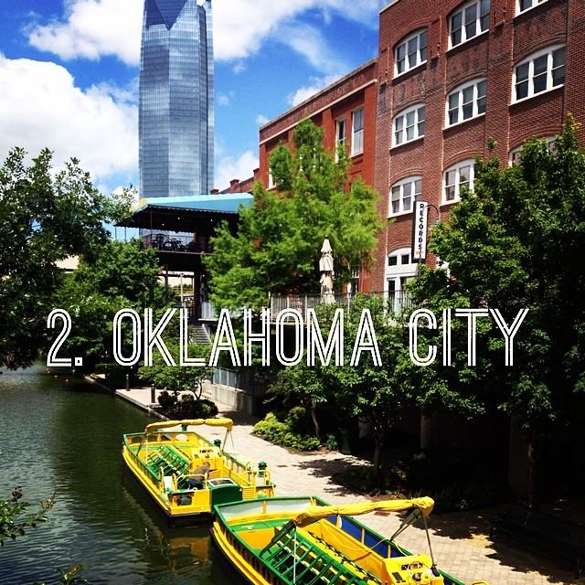 Visitando Oklahoma City em Oklahoma