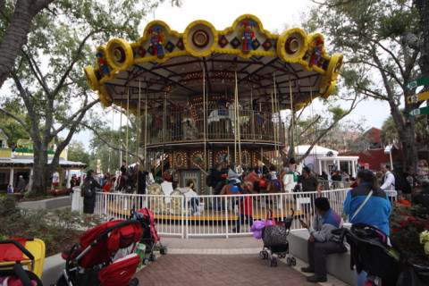 The Grand Carousel na Legoland