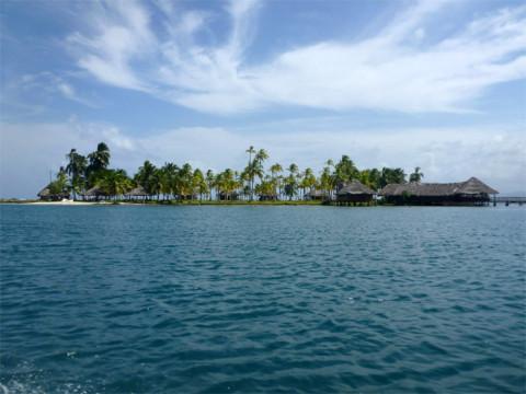 Voltando para a ilha Yandup
