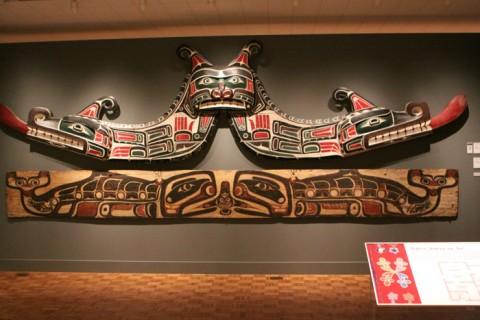 Pinturas de tribos do Noroeste americano, oeste Canadense