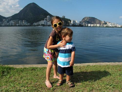 Visitando a Lagoa com crianças – o Parque dos Patins