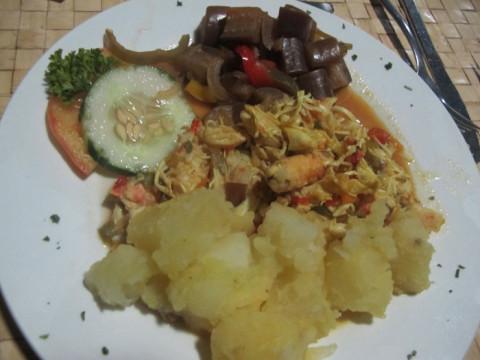 O meu prato de siri igual ao do primeiro dia