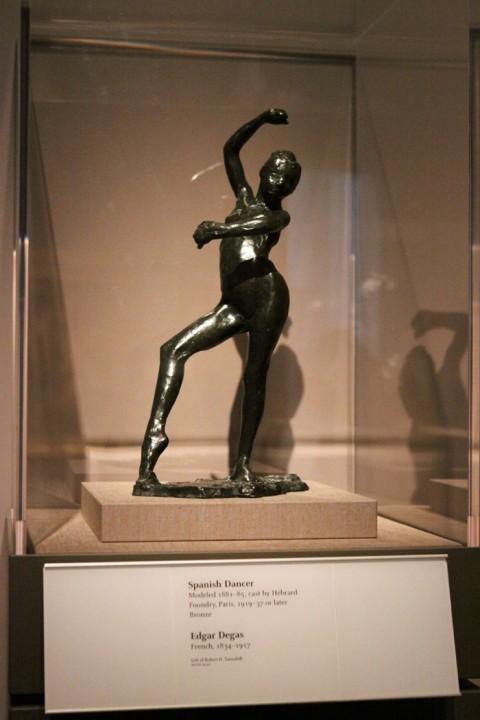 Dançarina Espanhola, de Edgar Degas