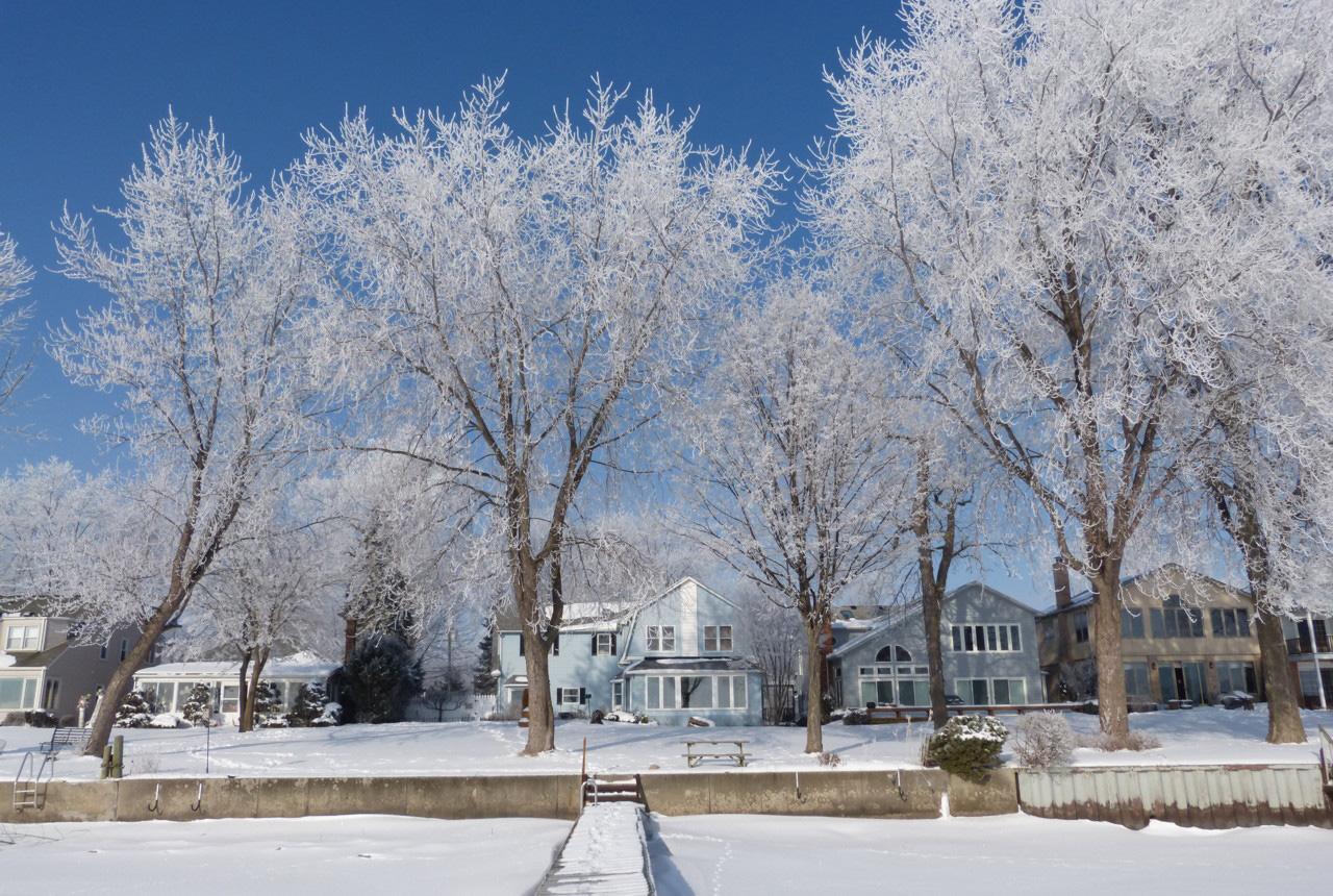 15 fotos incríveis de gelo e neve em Michigan