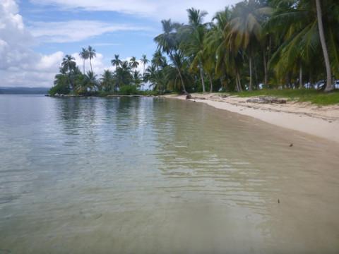 Mais um cantinho lindo na ilha Arridup em San Blás