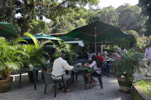 """O Café Botânica, que é o """"restaurante"""" deixou a desejar"""