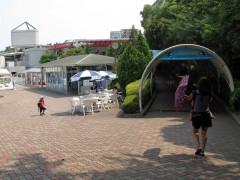chegando ao aquário de shinagaw