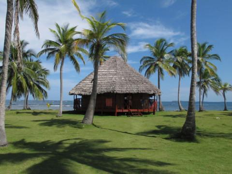 A nossa cabana no Yandup Lodge