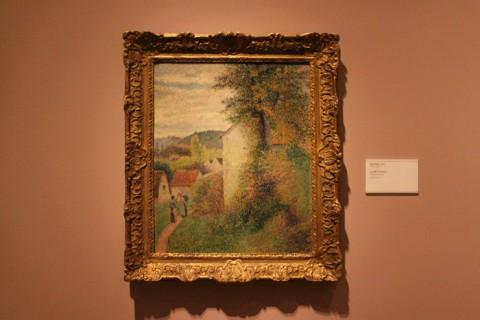 O Caminho, de Camille Pissarro, 1889
