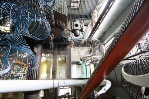 O museu mais louco que já visitamos: City Museum em St Louis