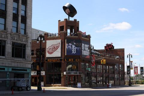 Hockeytown é o Hard Rock Café dos fãs de hóquei