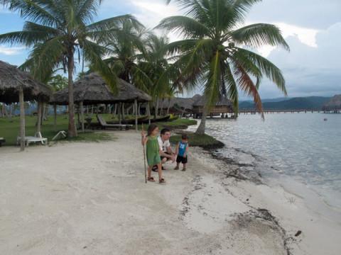 Explorando a ilha Yandup