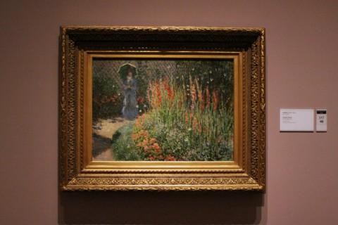 Gladíolos, de Claude Monet, 1876