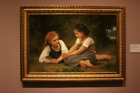 The Nut Gatherers, de William-Adolphe Bouguereau, 1882