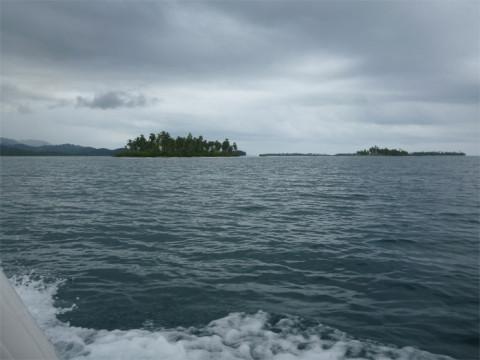 Rumo a ilha Arridup, que diferença com essas nuvens