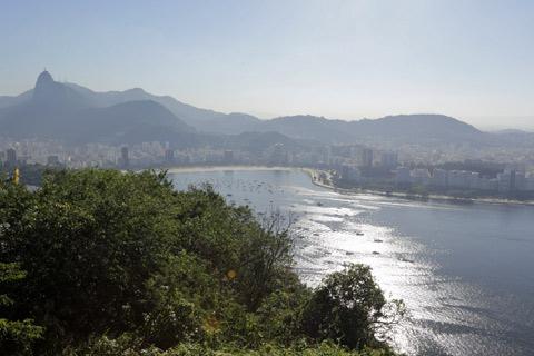 Corcovado, Botafogo, um pedacinho do Flamengo...