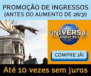 Ingressos Universal em promoção