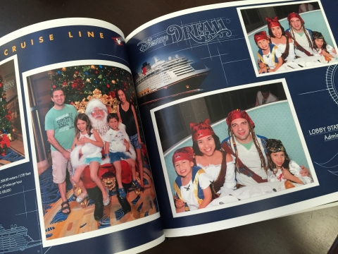 Nosso photobook do Disney Dream