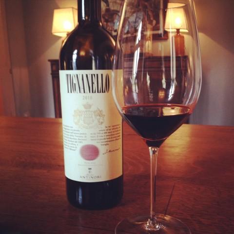 Um dos melhores vinhos que tomei
