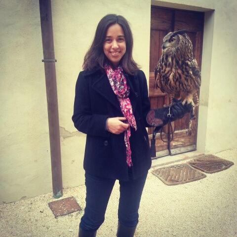 Eu e a coruja em Staggia