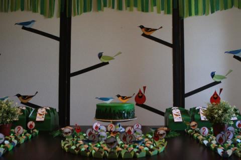 A festa dos passarinhos