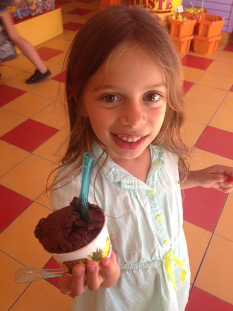 Julia e seu gelato