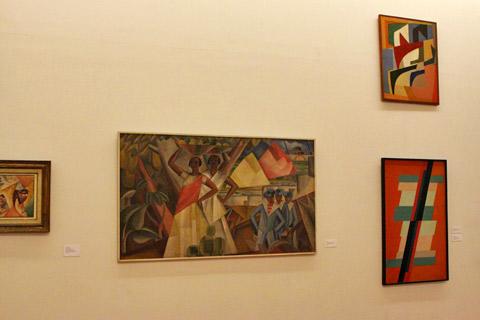 As baianas, de John Graz (centro)