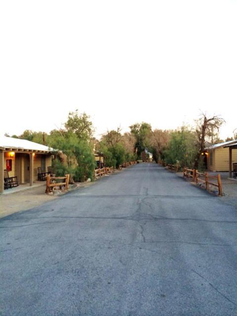 A cidadezinha abandonada