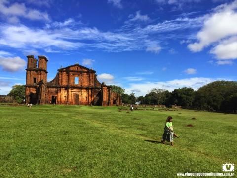 São Miguel das Missões no Rio Grande do Sul, foto: Francine Agnoletto