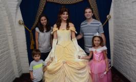 Almoço com as princesas da Disney no Akershus no Epcot