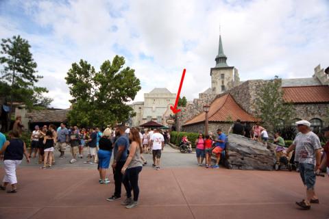 O Akershus fica na área da Noruega, no World Showcase do Epcot