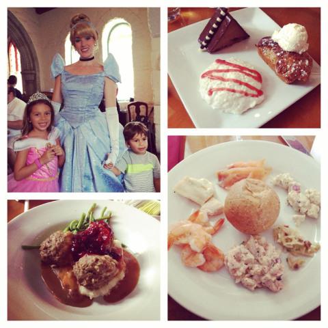 Eric e Julia no Akershus e a comida de lá, norueguesa, eu gostei