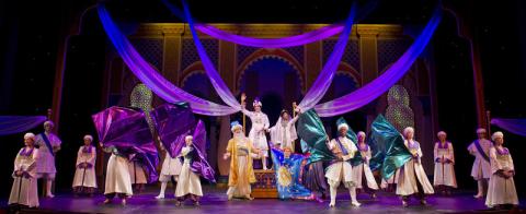 Aladdin no Walt Disney Theater (foto de divulgação - não pode fotografar no teatro)