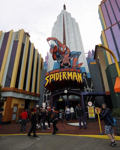 Entrada pro Amazing Adventures of Spider-Man, um dos melhores simuladores 3D